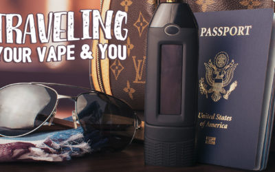 5 tips for traveling with your VAPE!
